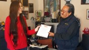 Reconocen a paramedico voluntario de la Cruz Roja Mexicana